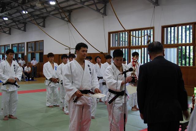 第66回四大学柔道新人戦2