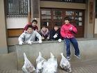 学習院外周清掃活動(H24.2.13)